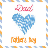Happy Father's Day Royalty Free Stock Photos