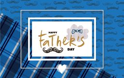 Happy Father`s day royalty free illustration