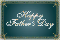 Happy Father's Day Illustration Stock Photos