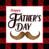 Happy Father's Day Illustration Royalty Free Stock Photos
