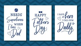 Happy Father's Day vector illustration