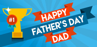 Happy Father's Day Message Royalty Free Stock Photo