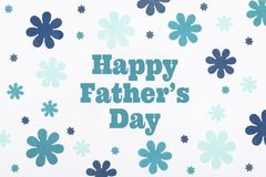 Happy Father`s Day pastel coloured background. Beautiful floral flat lay. Fathers day. Happy Father`s Day pastel coloured background. Beautiful floral flat lay royalty free stock photography