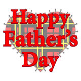 Happy Father's Day Patch Royalty Free Stock Photography