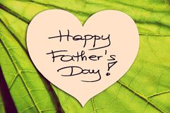 Happy Father's Day picture image Stock Photo