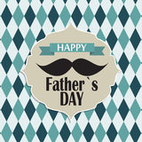 Happy Father`s Day Poster Card Vector Illustration vector illustration