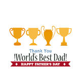 Happy Father's day Stock Photos