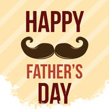 Happy father's day Stock Image