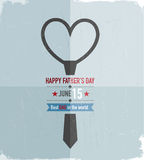 Happy Fathers Day Tie Stock Photography