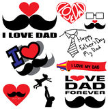 Happy Father's Day Stock Photography