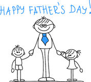 Happy Father's Day,vector Stock Photography