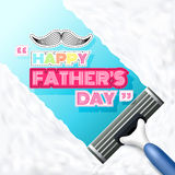 Happy Father's Day.Vector illustration Royalty Free Stock Photography