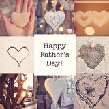 Happy Father's Day!. Father's Day wish card Stock Photography