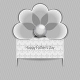 Happy Father striped Stock Image