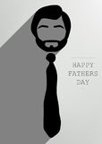 Happy father tie Royalty Free Stock Photo