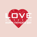 Happy Father's Day background. background. Stock Photos