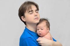 Happy fatherhood stock photo