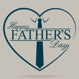 Happy Fathers Day stock illustration