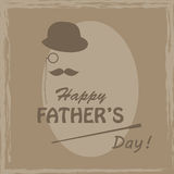 Happy Fathers day . Royalty Free Stock Photos