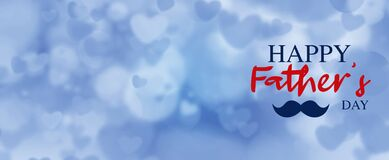 happy fathers day background banner