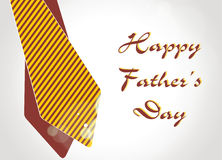 Happy Fathers Day Background / Card. Royalty Free Stock Photos