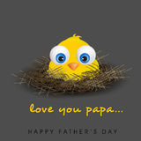 Happy Fathers Day background. Stock Photography