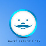 Happy Fathers Day background. Stock Image