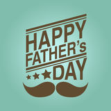Happy fathers day background Stock Photo