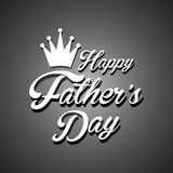 Happy fathers day background Stock Images