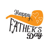 Happy fathers day background Royalty Free Stock Images