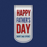 Happy fathers day banner vector illustration