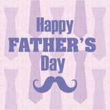 Happy Fathers Day Card Royalty Free Stock Image