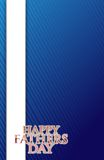 Happy fathers day card illustration design Royalty Free Stock Image