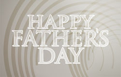 Happy fathers day circles background Royalty Free Stock Images