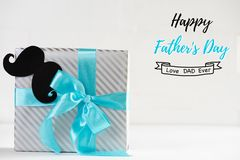 Happy fathers day concept. Stock Photography