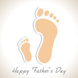 Happy Fathers Day Concept. Royalty Free Stock Photography