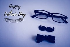 Happy fathers day concept. Royalty Free Stock Images