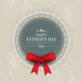 Happy Fathers Day Concept. Royalty Free Stock Photo