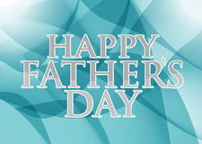 Happy fathers day. dark blue, green abstract Stock Photo