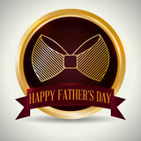 Happy fathers day design. Royalty Free Stock Photo