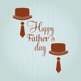 Happy fathers day design Stock Photo