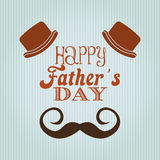 Happy fathers day design Stock Images