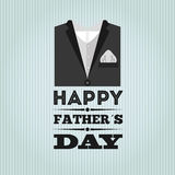 Happy fathers day design Royalty Free Stock Photo