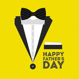 Happy fathers day design Stock Photography
