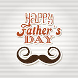 Happy fathers day design Royalty Free Stock Image