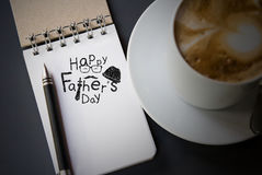 Happy fathers day. For design work royalty free stock image