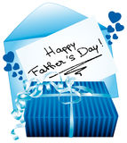 Happy fathers day. Royalty Free Stock Photo