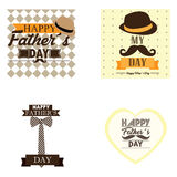 Happy fathers day Royalty Free Stock Photography