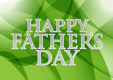 Happy fathers day. green abstract background. Illustration design graphic royalty free illustration