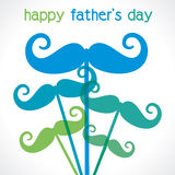 Happy fathers day. Greeting background Royalty Free Stock Images